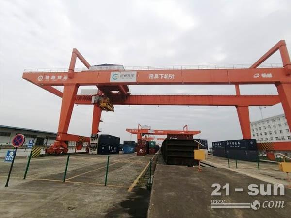 四川泸州龙门吊出租厂家20吨跨距