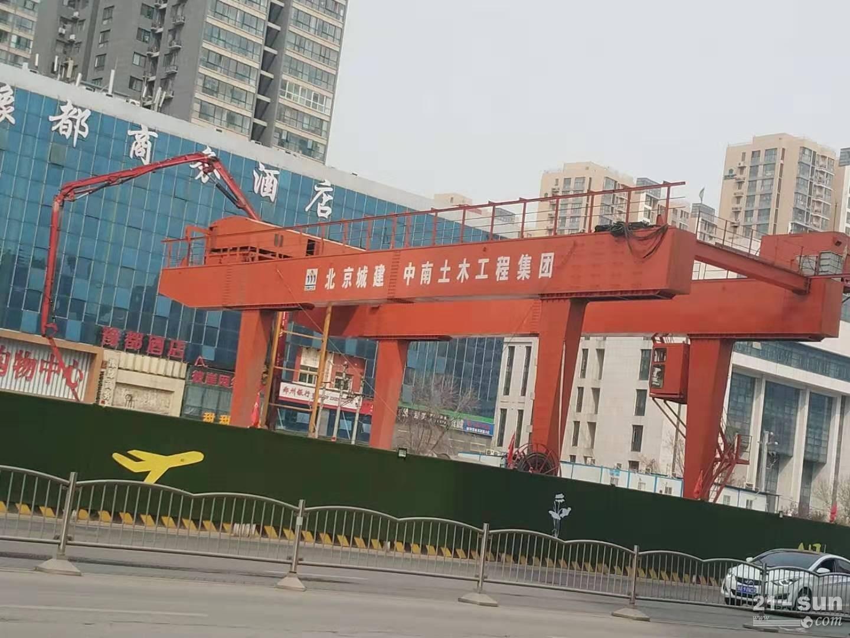 湖北襄阳100吨龙门吊出租厂家安全性高