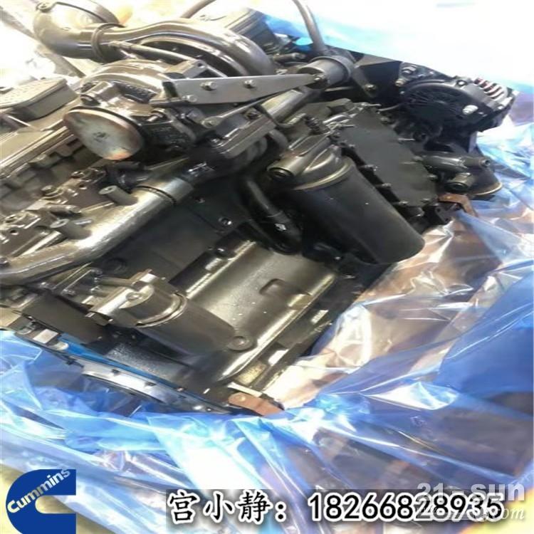 山东康明斯工程机械设备QSC8.3进口库存机