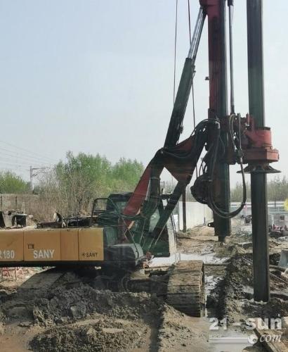 150二手旋挖钻机