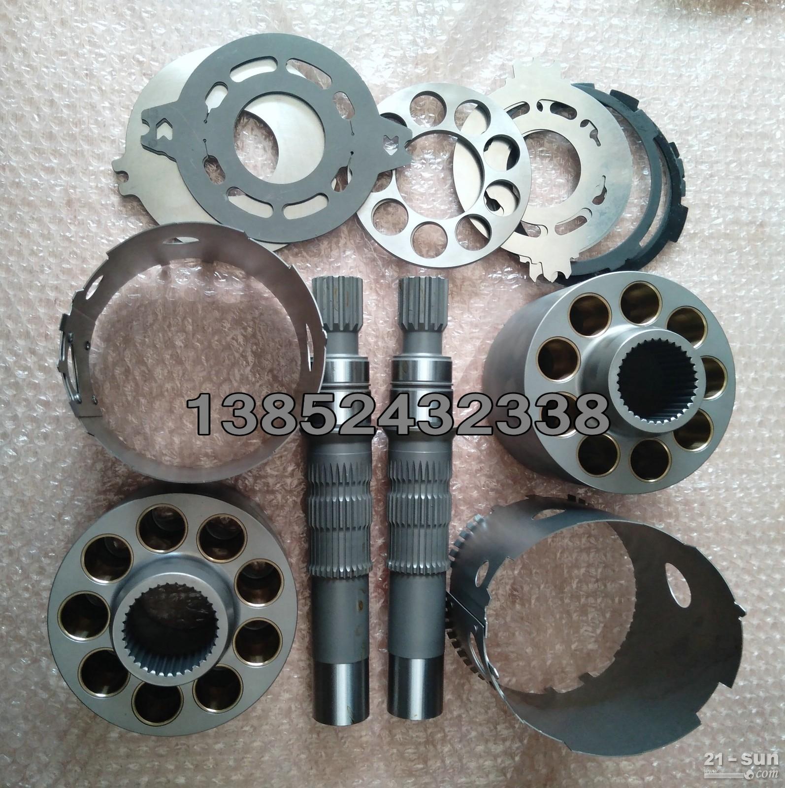 徐工压路机液压泵配件 泵胆 柱塞 配油盘
