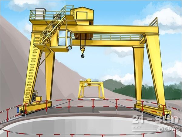 江苏盐城5吨龙门吊出租厂家工作速度