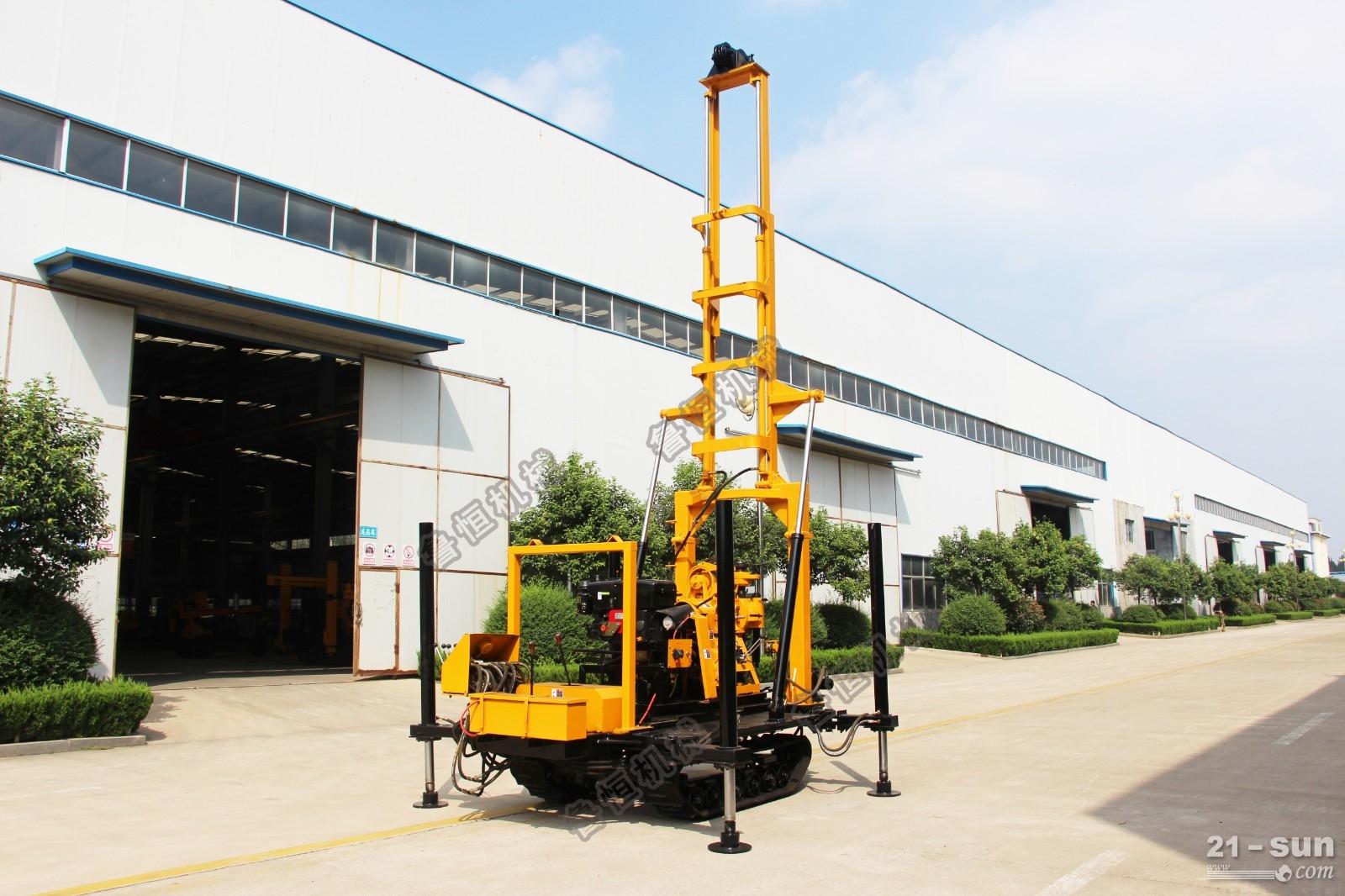 恒旺自行式三轮车载灌溉井水井钻机 三轮车打井机厂家直销 HWC-230车载水井钻机适应范围: