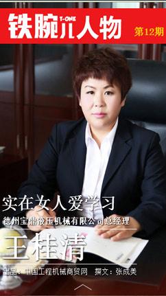 德州宝鼎总经理 王桂清