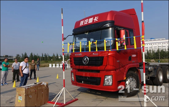 """陕重汽开展""""2015中国车王挑战赛"""""""