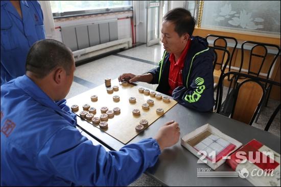 中国象棋比赛手绘海报