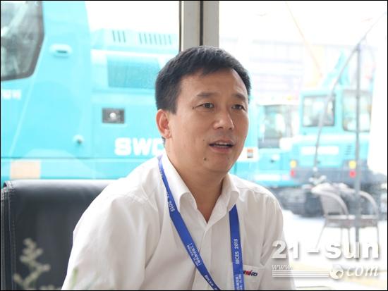 山河智能总经理陈刚