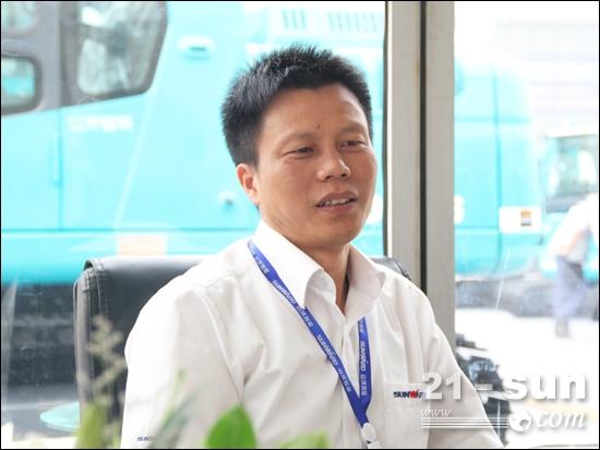山河智能地下工程研究院院长、国际营销公司总经理朱建新
