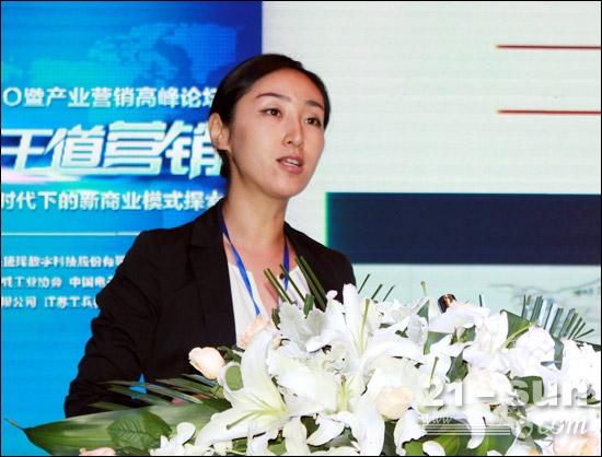 广西柳工机械股份有限公司市场部长林熙作报告