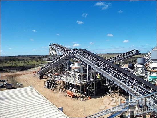 俄罗斯K2移动站现场、澳大利亚碎石生产线