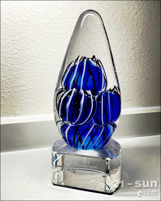 柳工锐斯塔公司ZZN工厂蝉联美国GE公司年度最佳供应商奖项