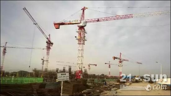徐工设备助建阿尔及尔国际机场