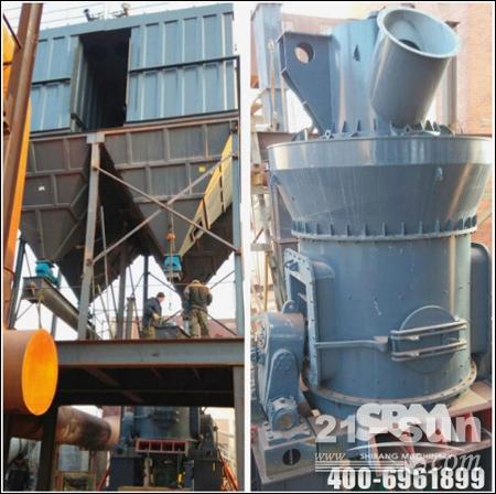 甘肃LM190M/N煤粉和水渣生产现场图
