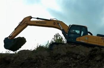 现代重工VS系列挖掘机