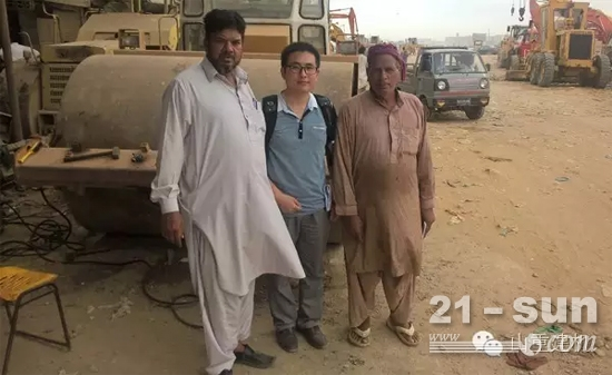 山重建機巴基斯坦走訪記