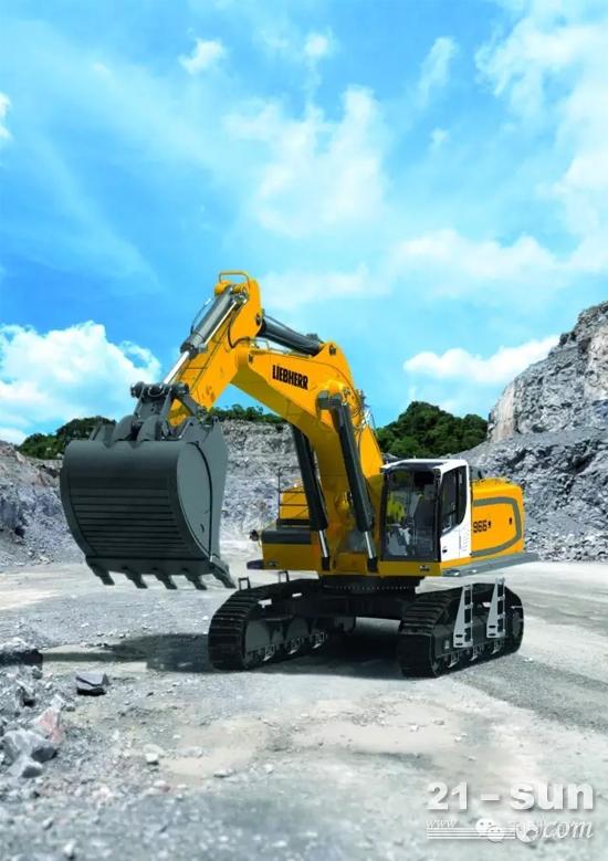 R966在利勃海尔位于法国阿尔萨斯大区的科尔马工厂生产