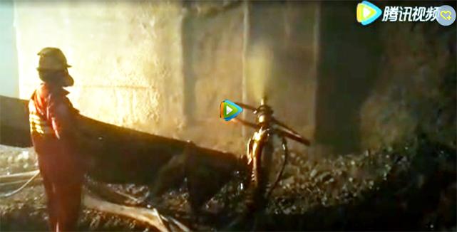 大象湿喷机云南玉磨铁路施工视频