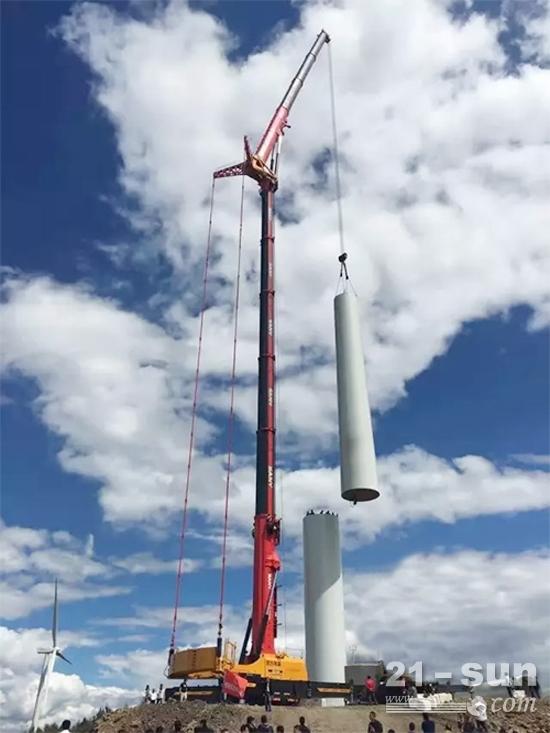 三一起重机与吊风力发电机组