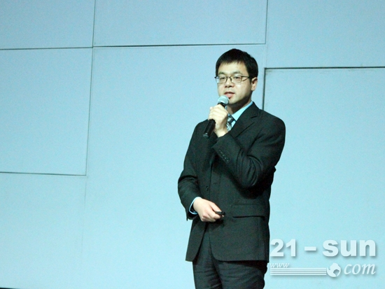 中联重科中央研究院任会礼博士诠释4.0系列产品理念