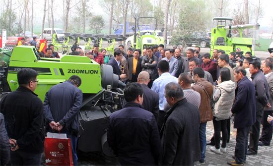 中联重科秸秆综合利用全程机械化农机装备引关注