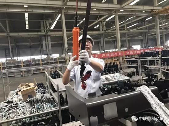 中联重科叉车创新培训模式