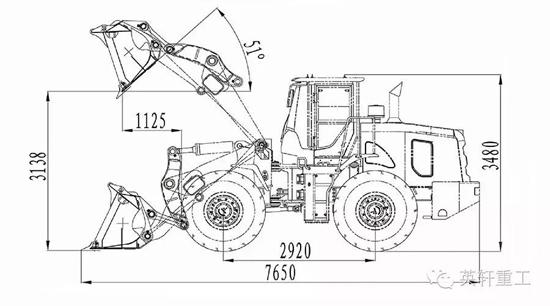 型结构_具体来说,yx655h,采用的是加强型结构的前后车架,具有强度高,寿命