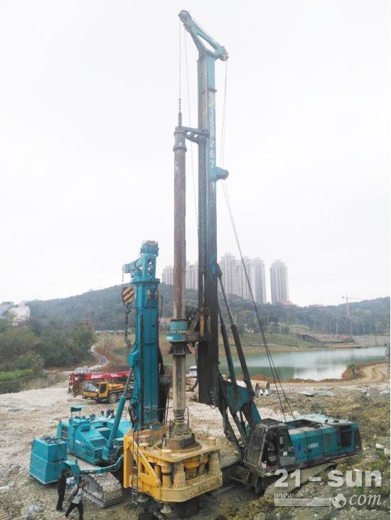 最大施工套管外径1.7m,通过创新性设计可有效提高施工质量和降低、降低施工作业成本