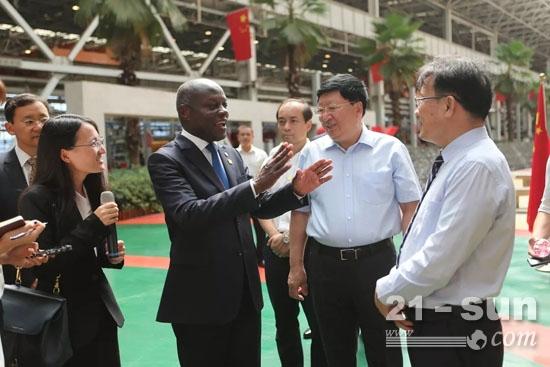 几内亚比绍总统:期待三一深度参与国家建设