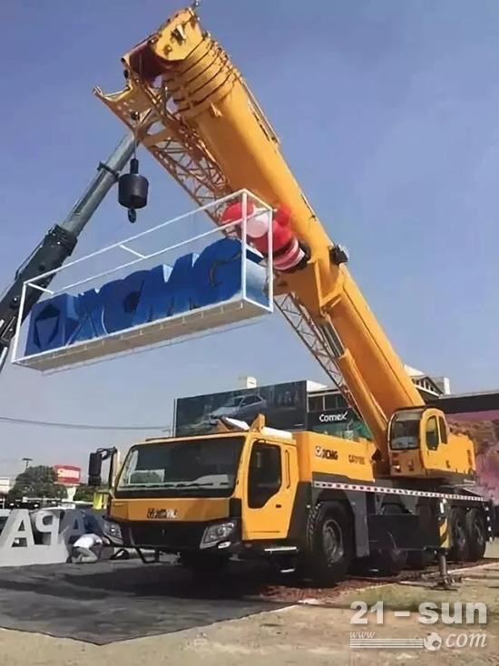 徐工首台2米超大型铣刨机登陆北美地区