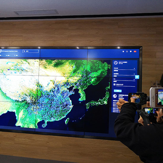 远程监控系统,可以实时监测到全国范围内沃尔沃设备的开工率和开工密度
