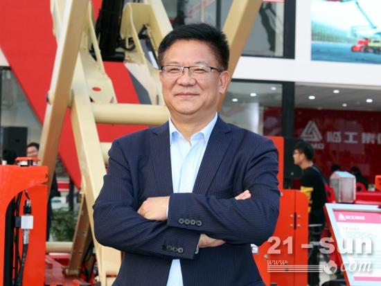 21-sun對話臨工集團濟南重機有限公司總經理支開印