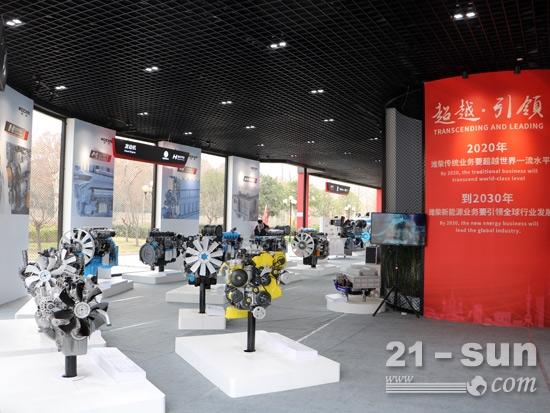 潍柴发动机产品展示