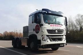 无人驾驶纯电动智能卡车—豪沃T5G(L4阶段)