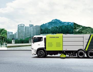中聯重科ZLJ5160TXSDFE5洗掃車