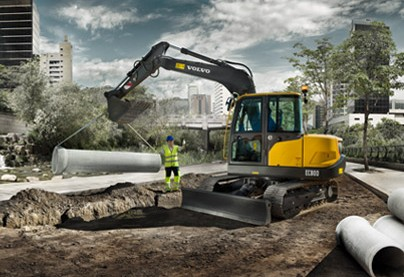 沃尔沃EC80D Pro挖掘机