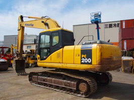 小松PC200-7挖掘機二手挖掘機