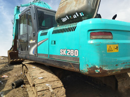 神鋼SK260超8二手挖掘機