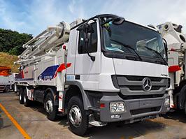 中聯重科ZLJ5419THB-5二手混凝土泵車