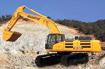 碎石重载王 山推SE500LC液压挖掘机