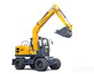新源機械XYB90輪式挖掘機
