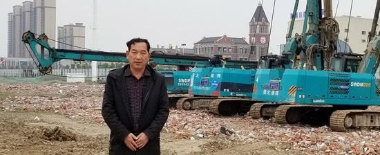 他以11台旋挖钻占领荆州房建市场
