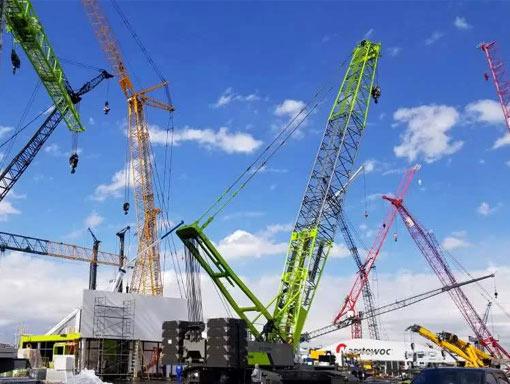 工程机械企业重点项目基地纷纷开工建设