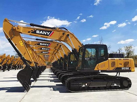 新老基建齐发力 挖机销量继续回升