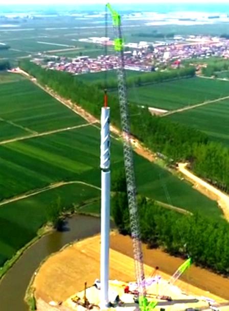 中联重科为风电工程添砖加瓦