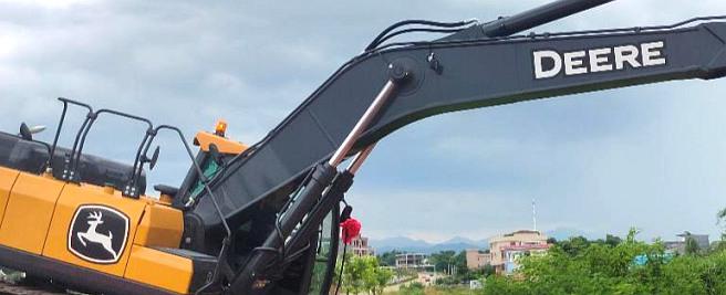 约翰迪尔大型挖机硬实力圈粉