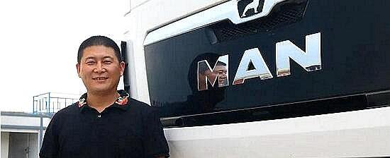 用曼恩牵引车打造国内最长货运线