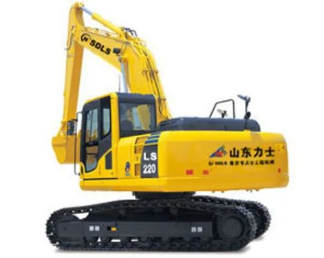 力士中型挖掘机推荐,力士LS220-8挖掘机全解