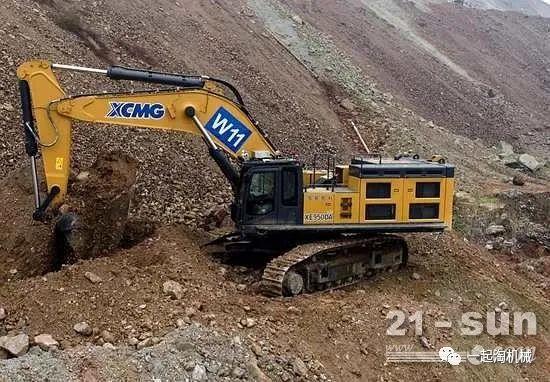 中国首台!徐工无人驾驶液压挖掘机交付矿区