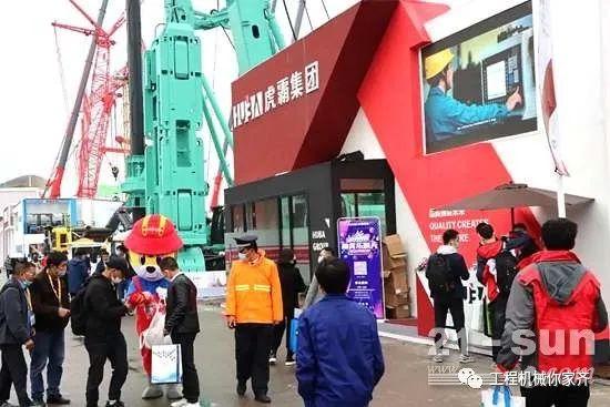 展吊装风采,虎霸携新品亮相2020上海宝马展