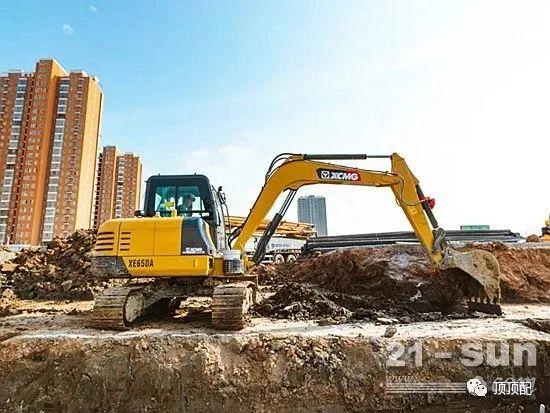 """挖、装、破……""""多面手""""徐工XE65DA挖掘机成用户致富首选!"""